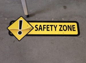 safety floor signage