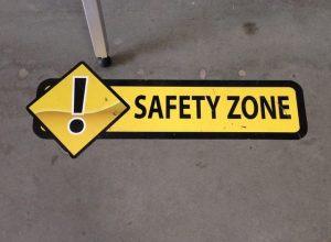 safety floor signage