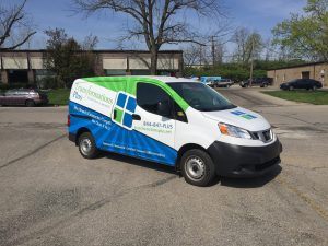 custom Dayton Ohio van wrap specialists