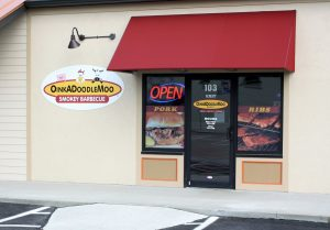 Centerville Sign Company custom window vinyl graphic storefront panel 300x209