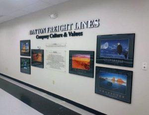 custom office signage